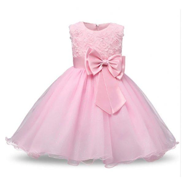 Vestido vintage de niñas princesa