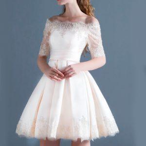 Vestido vintage de novia