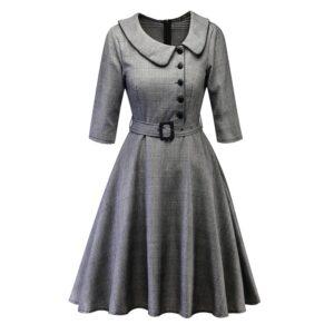 Vestido de Invierno vintage