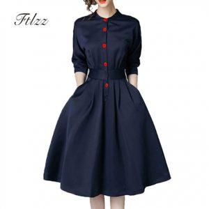 Vestidos de negocios vintage