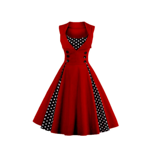 Vestido vintage Rockabilly