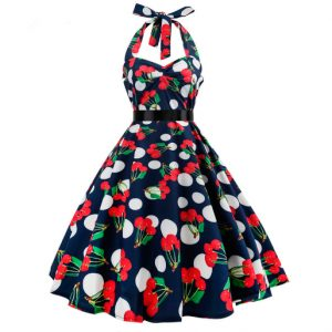 Vestido vintage pin up