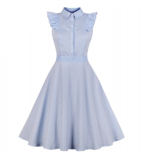 Vestido vintage estilo pin up