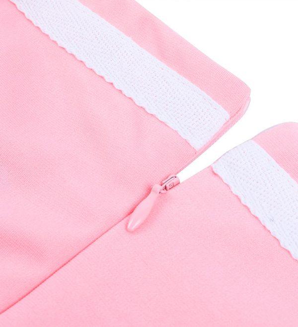 Vestido vintage rosado Rockabilly