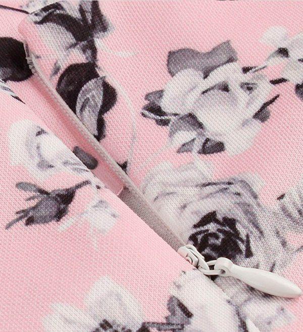 Vestido vintage floral pin up rockabilly
