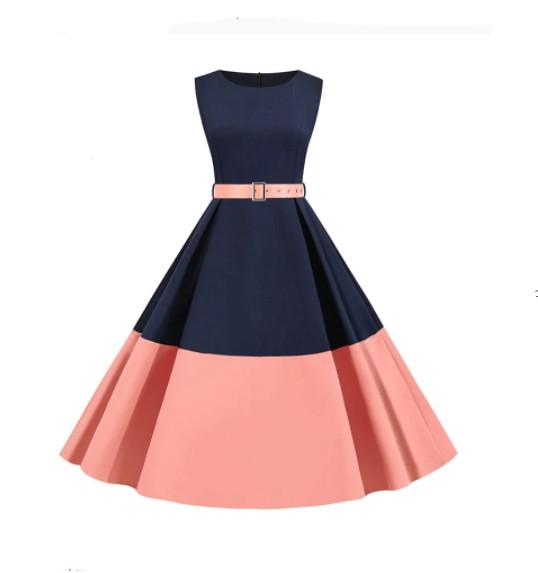 Elegante vestido vintage