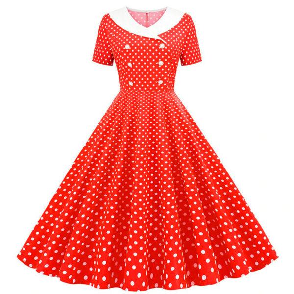 Vestido vintage Polka Dot